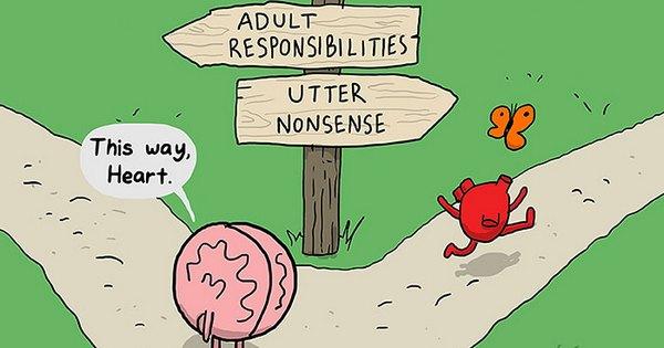 Comic from The Awkward Yeti