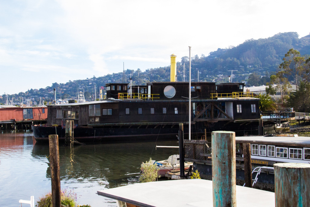 The Vallejo...an old ferry where Alan Watts lived.